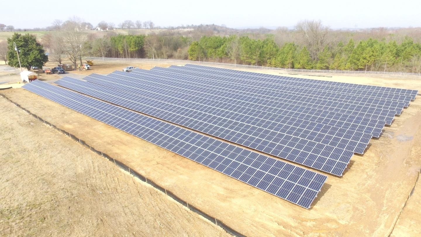 Arkwest Communications, Inc. Solar Array